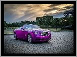 Rolls-Royce Dawn in Fuxia, 2017